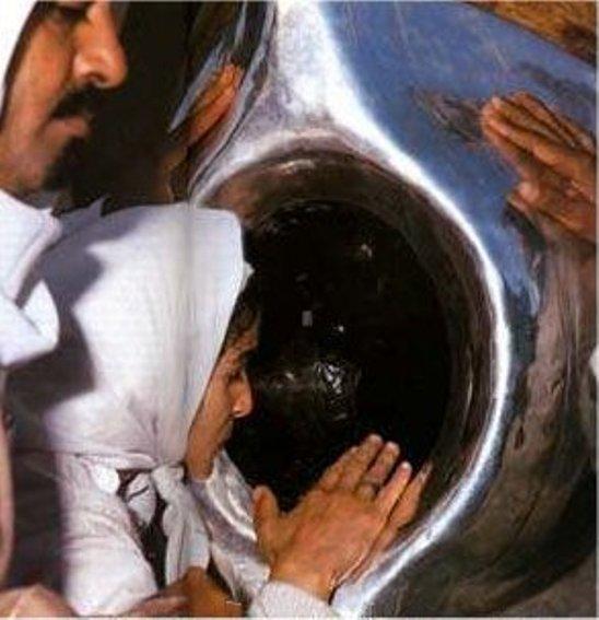 хорошая фото девы марии внутри каабы один